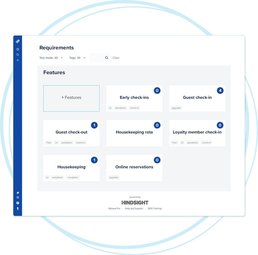 Living documentation in Jira - Completed user stories are automatically grouped by feature as a living document, automated test results are fully traceable to user stories, and powerful search allows teams to quickly locate important information.