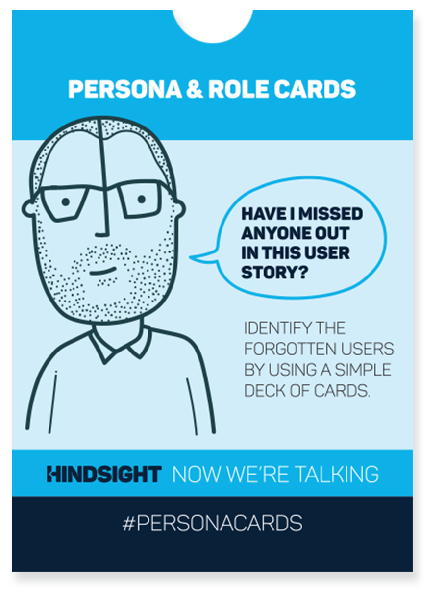 Persona & role cards for user stories - For product owners – make sure the user story adds value to all relevant users and avoid missing out important users.