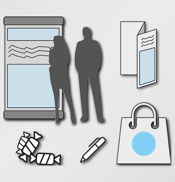 Merchandsing - Cada patrocinador tindrà la possibilitat de posar un roll up o peça de similars dimensions a l'espai de l'esdeveniment. S'haurá d'encarregar del lliurament i posterior recollida del material. A més, es lliuraran borses amb obsequis pels participants (150 unitats) i es podràn afegir peçes de merchandaising i publicitat dels patrocinadors.* La producció de les peces serà responsabilitat de cada patrocinador.INCLÓS AMB TOTS ELS PATROCINIS
