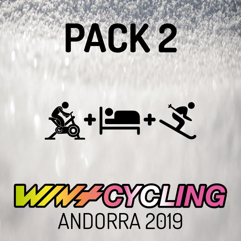 - ENTRADA WINTCYCLING 20191 NIT D'HOTEL1 DIA FORFET PAL ARINSALDes de: 101.40 €
