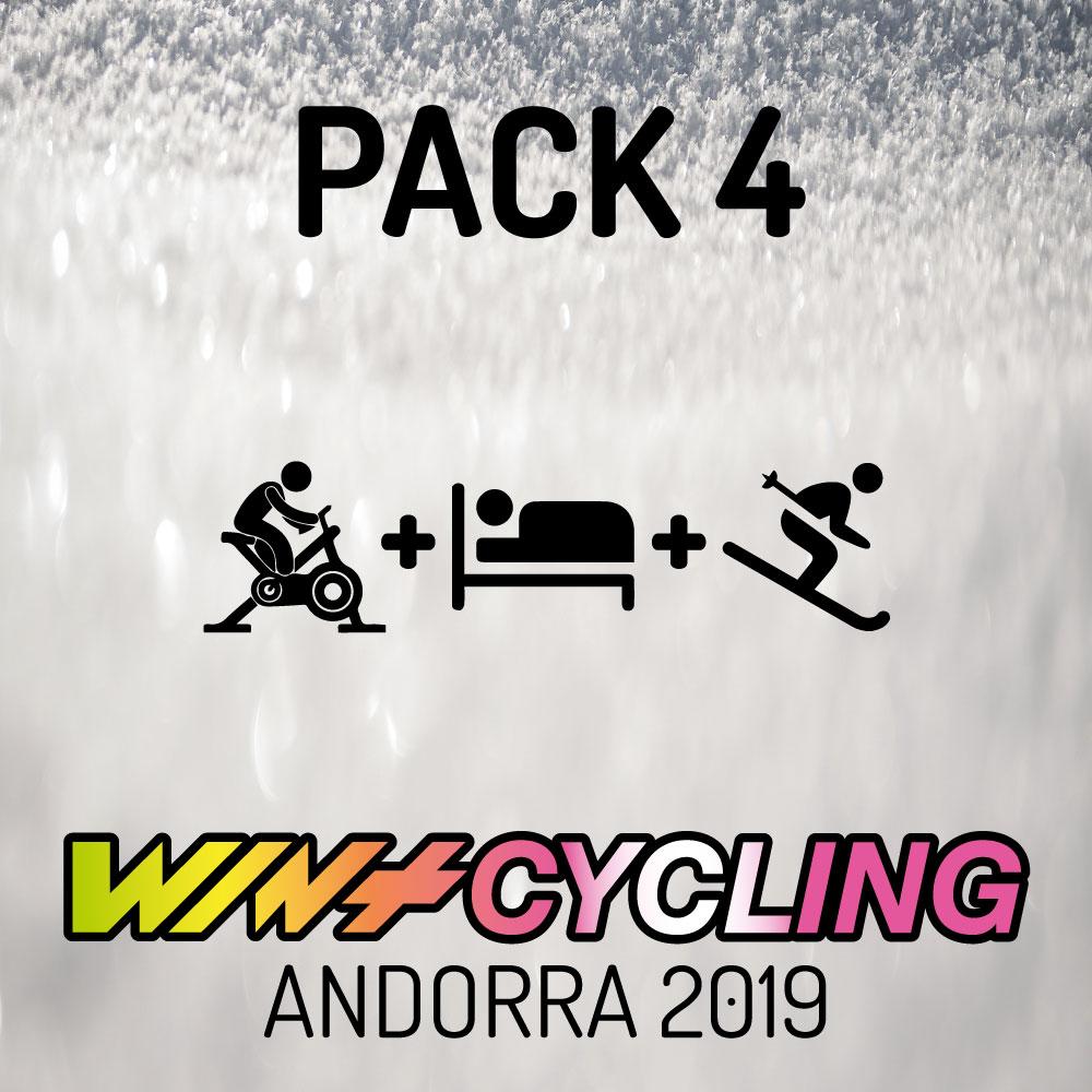 - ENTRADA WINTCYCLING 20192 NIT D'HOTEL1 DIA FORFET PAL ARINSALDes de: 163.75 €