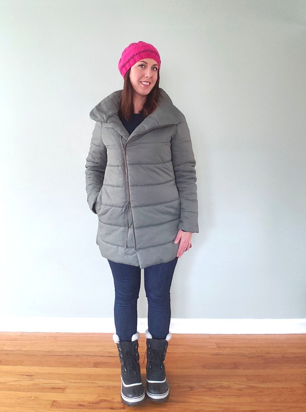 My puffer coat hack!