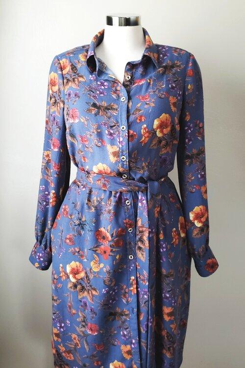 Version A Dress with Dress Belt