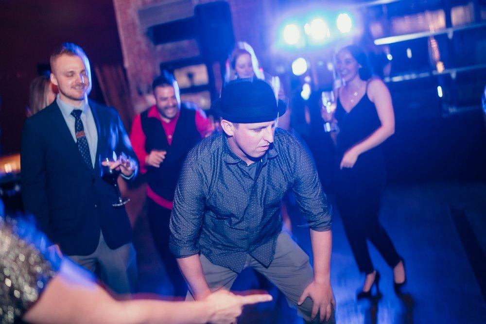 Dance floor gettin' going!