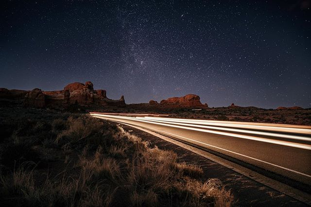 Caught Santa flying low through Arches National Park! He's a fast one! Merry Christmas everyone. . . . . .  #visititah #utahisrad #utah #getoutstayout #camping #werutah @theoutbound #welltraveled #wanderfolk #travelstoke #findyourselfoutside #outbackcollective #goatworthy #adventurevisuals #passionpassport #roamtheplanet #global_hotshotz @ourplanetdaily @nakedplanet #agameoftones #forgeyourownpath #letsgosomewhere #wildernessculture @wildernessculture #discoverearth #watchthisinstagood #modernoutdoorsman
