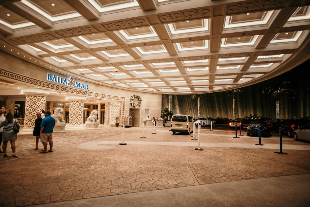 We then headed to the new Baha Mar Resort and Casino