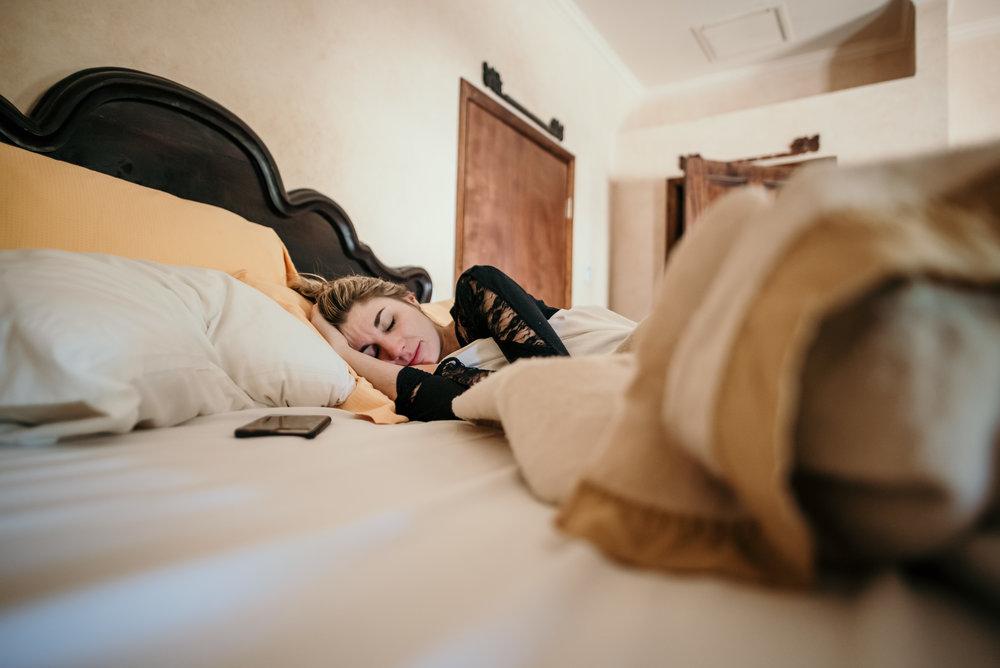 Ada sleeping in
