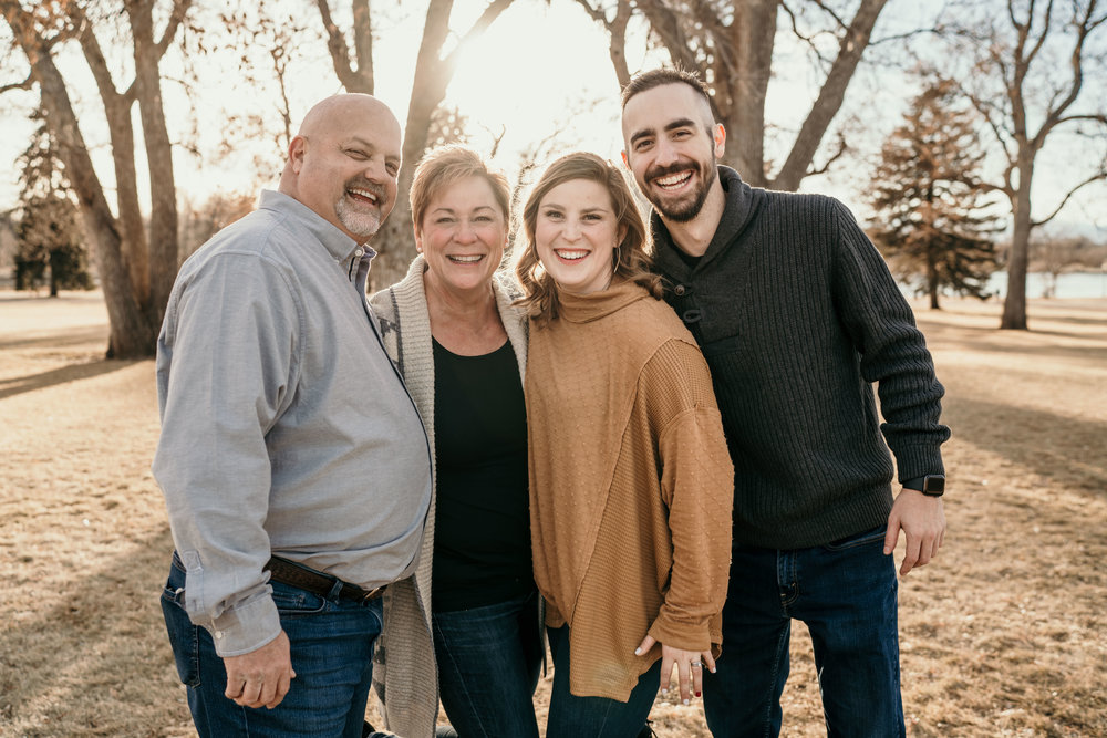 denver family photographers at city park immediate family