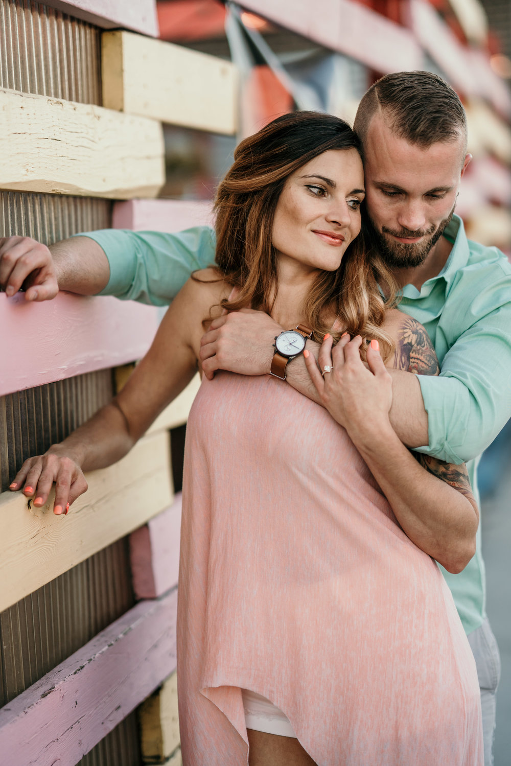 denver engagement photographer in rino with tim gillies - 8