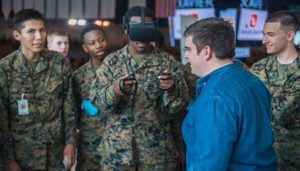 Students from New Orleans Military and Maritime Academy Learn About Virtual Reality
