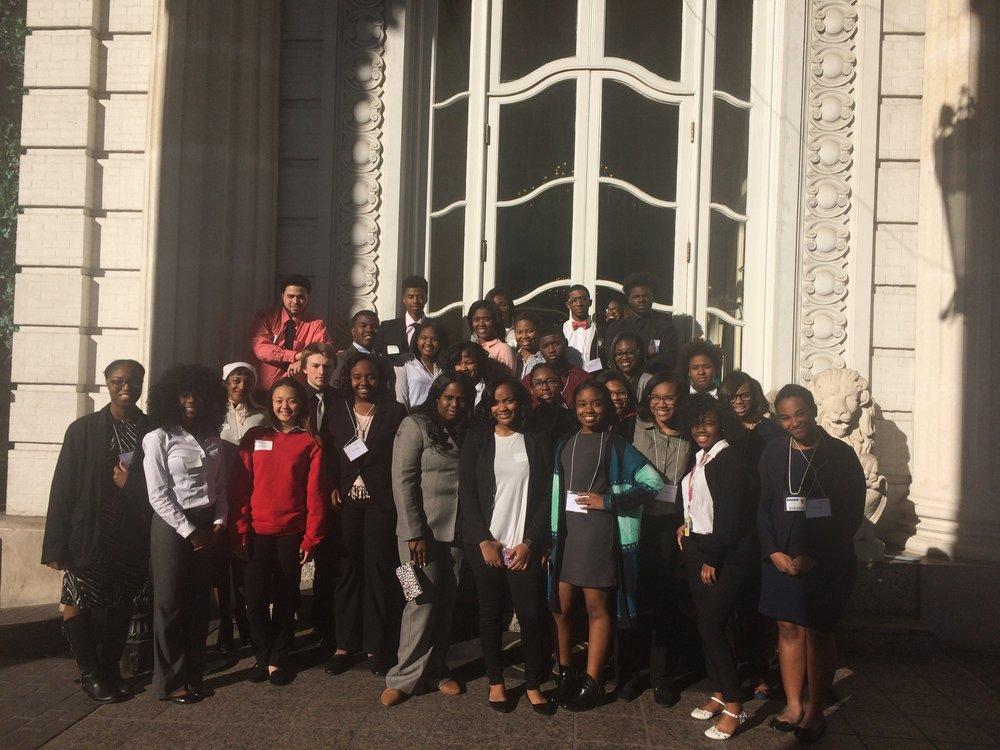 YouthForce Internships Spring 2017 cohort