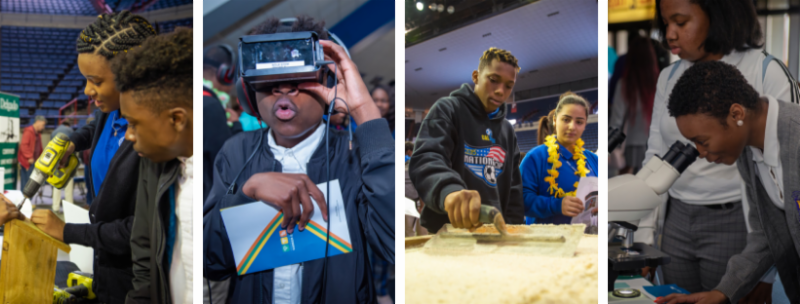 Students explore career pathways at the 2019 youthForce NOLA Career Expo