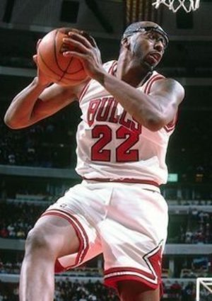John Salley  Playing For  The Chicago Bulls