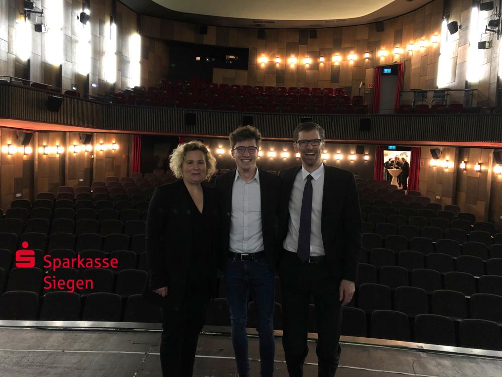 Erste Kino Produktion - für die Sparkasse Siegen