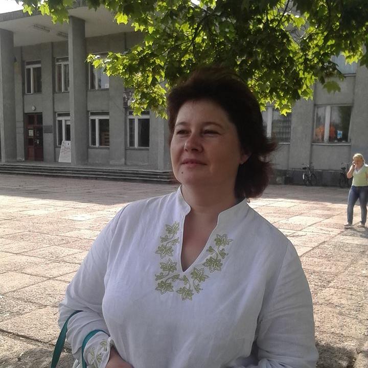 Oksana Kharkova, Editor at Novgorod-Siversky public broadcaster