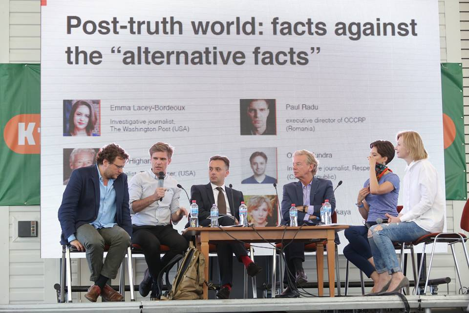 Connecting Ukrainian and global journalism