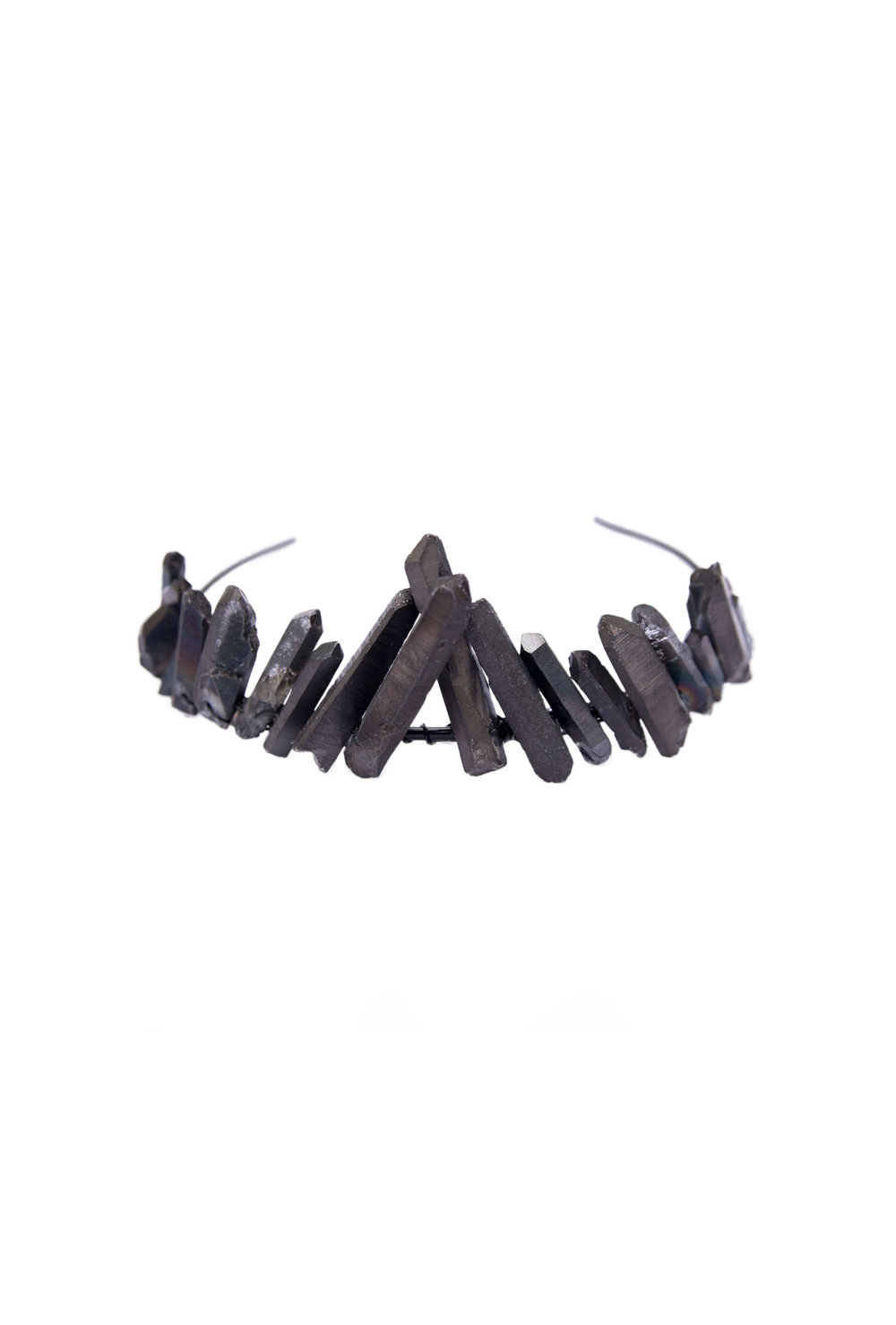 Black Quartz Crown