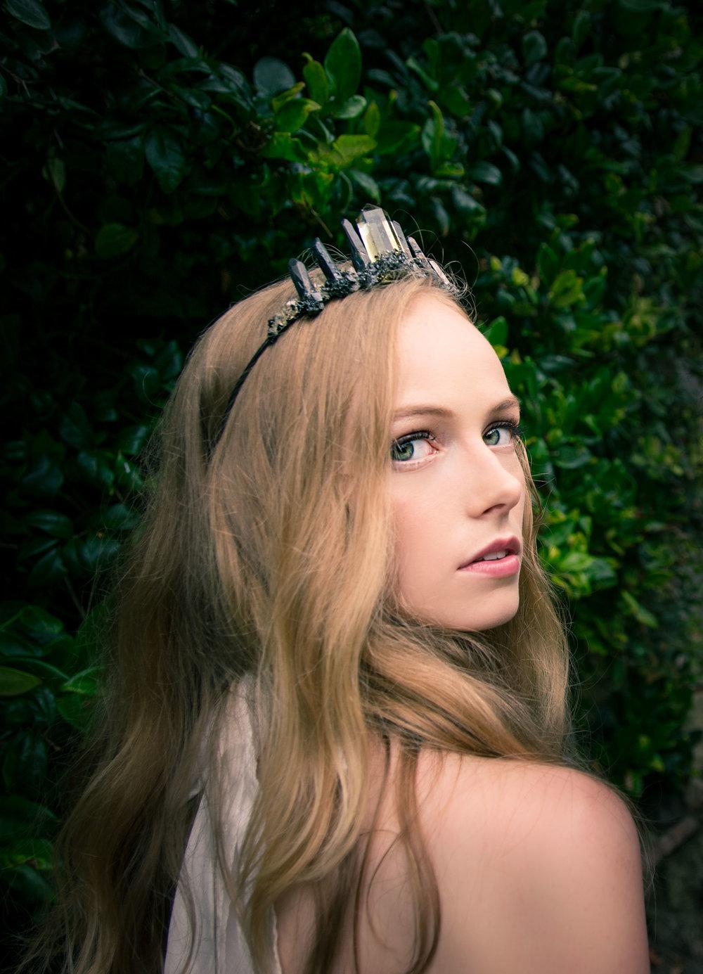 Citrine High Priestess Crown