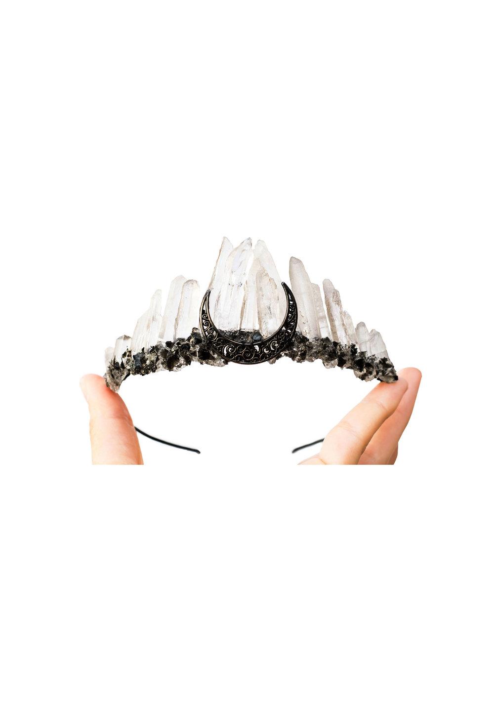 Obsidian Moon Crown