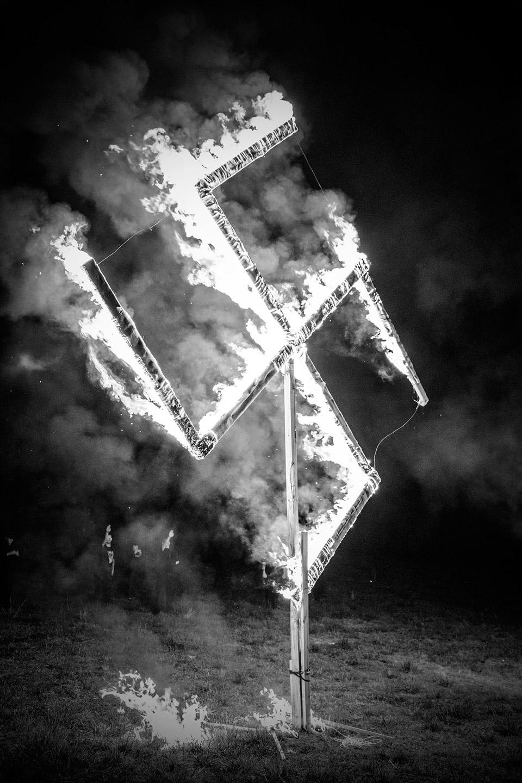 National Socialist Movement Lighting Ceremony, Georgia, 2018