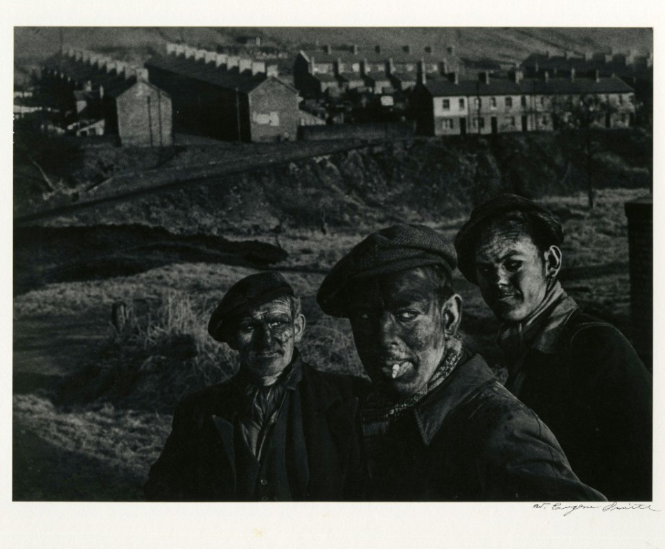 Three generations of coal miners 1950 © W. Eugene Smith / CCP
