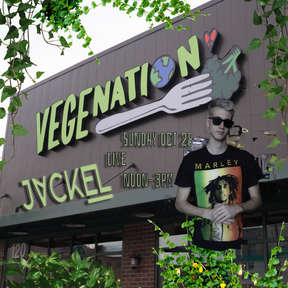 JackEL is DJing Live at VegeNation in Las Vegas Oct 28th noon - 3PM