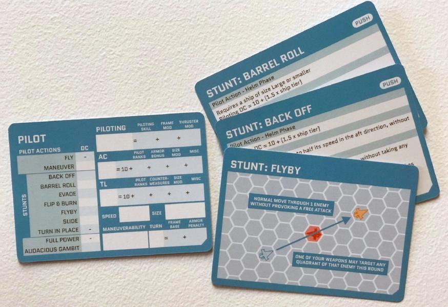 Pilot Cards