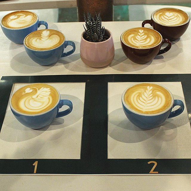 A little competition is healthy, right? 😜  Join us Thursday April 18th at 7:00pm and see if you have the skills to bring home $500 thanks to @voltmerchsolutions . Message us to reserve your spot for the Latte Art Throwdown! . . #miamispecialtycoffee #miami #allapattah #wynwood #miamicoffee #coffee #espresso #specialtycoffee #decocoffee #decocoffeeco #bestofmiami #thirdwave #latteart #latteartthrowdown #latteartcompetition #miamibarista #barista