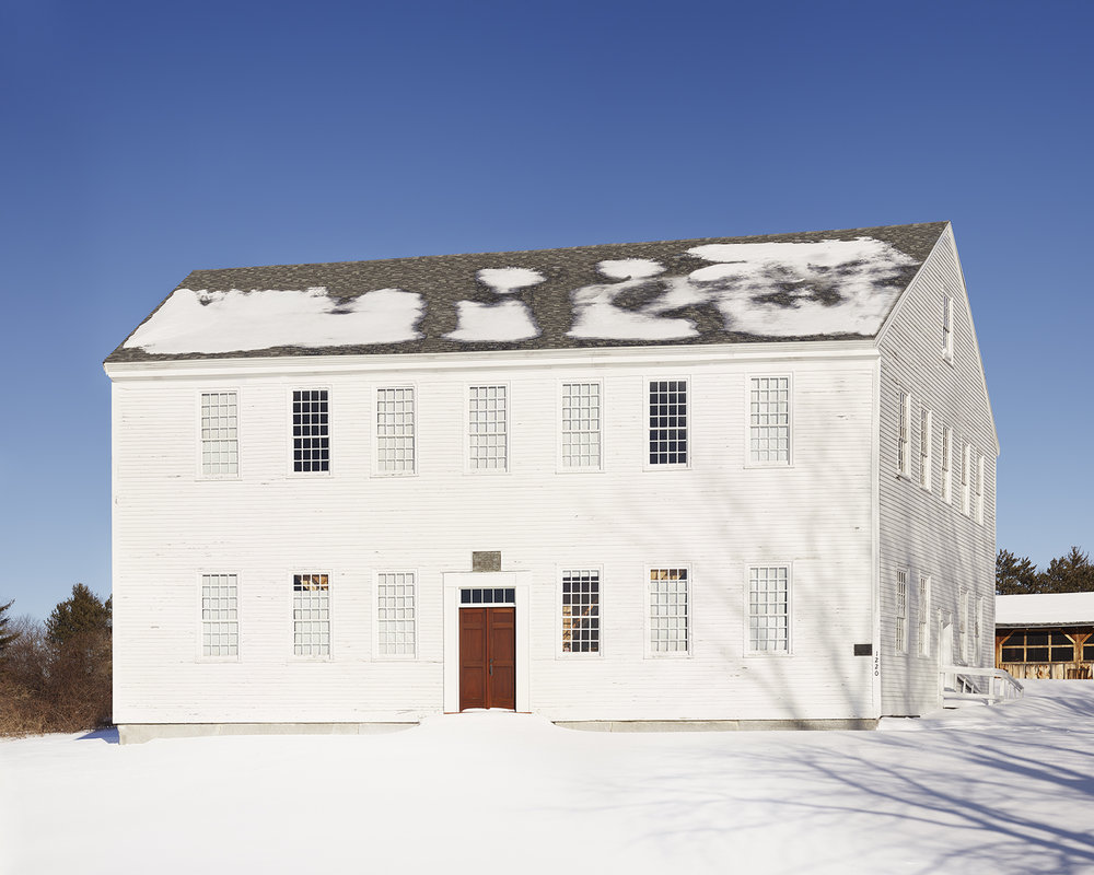 Meeting House, Webster NH, 2015