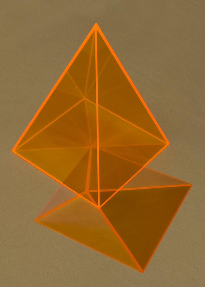 Pyramid (Orange), 2016
