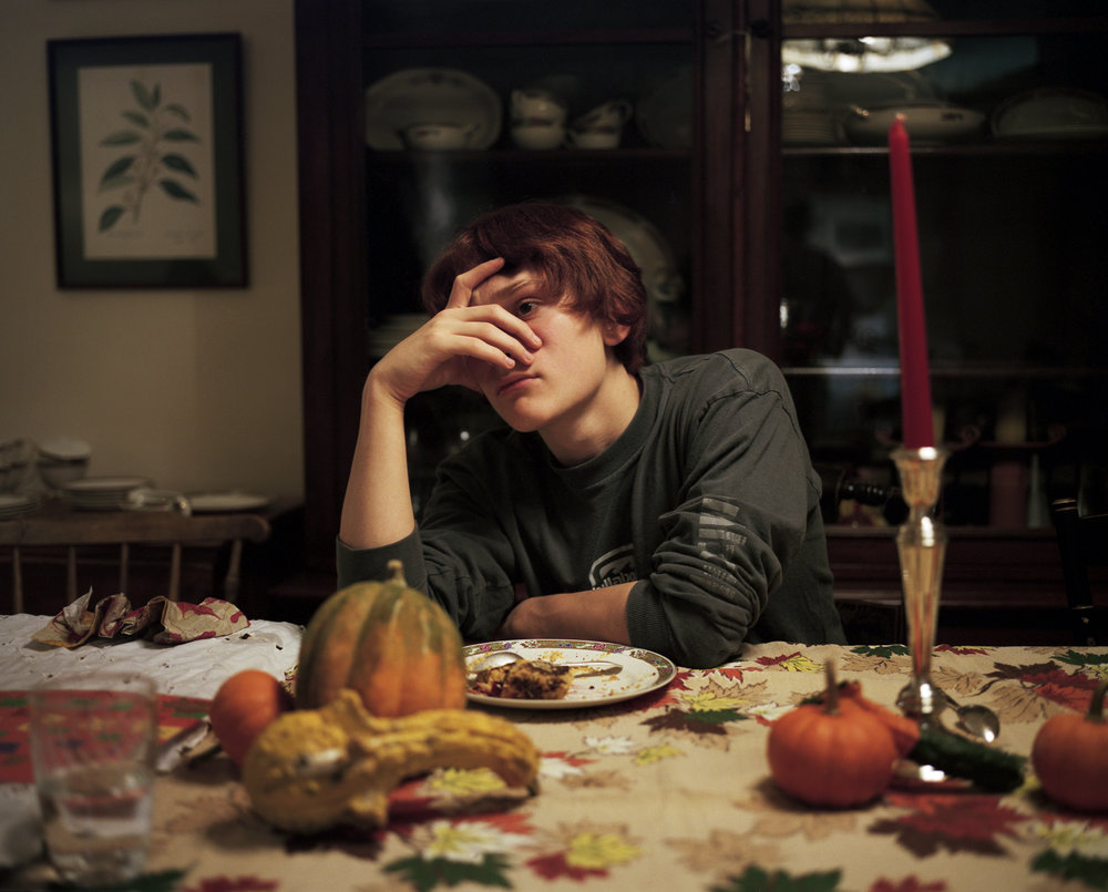 Luke at the Thanksgiving Table, 2011
