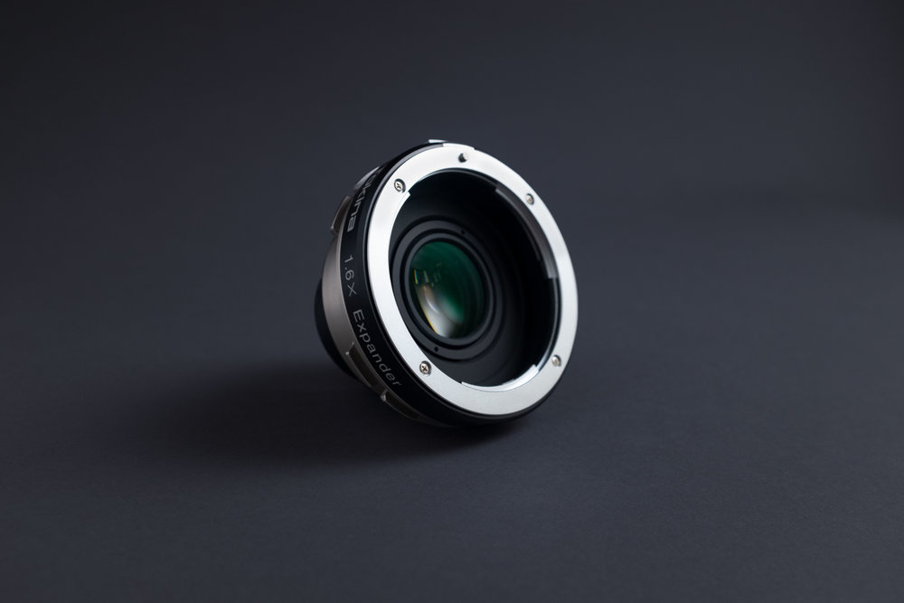 1.6x Expander - Super35 to Vista Vision