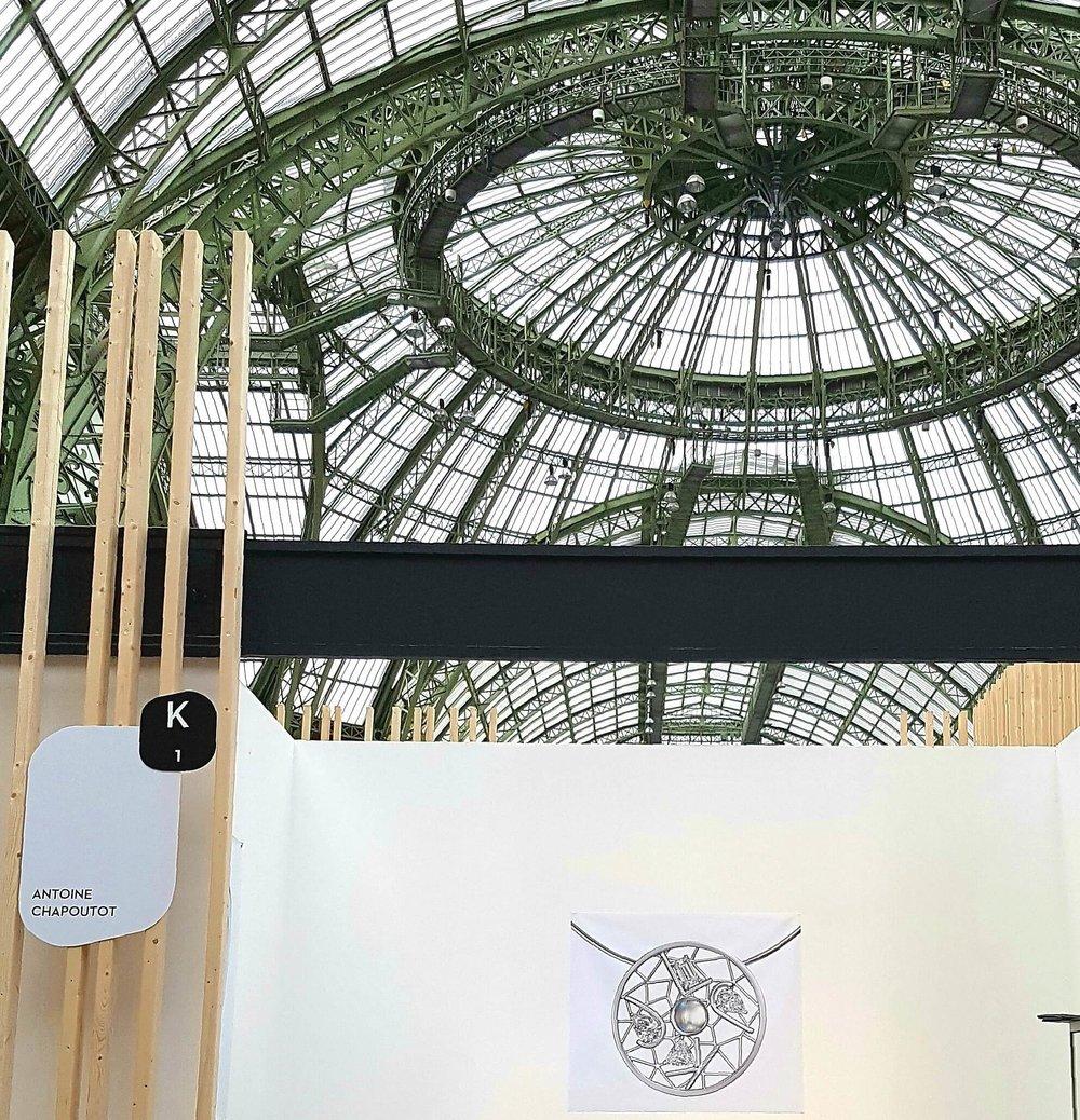 2013RévélationsGrand Palais - Biennale où Antoine Chapoutot exposera en 2013 - 2015 - 2017 et 2019