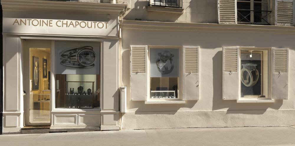 2017 - Antoine Chapoutot s'agrandit et s'installe23, rue du Cherche MidiParis 6°