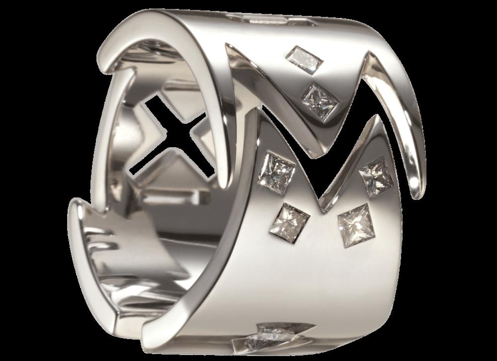 Bague Malevitch or blanc 16,73 gr et 10 diamants 0,59 carat.png