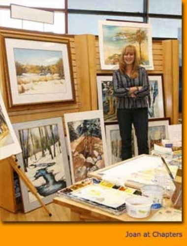 Joan Bontje Watercolour Artist Chapters Indigo