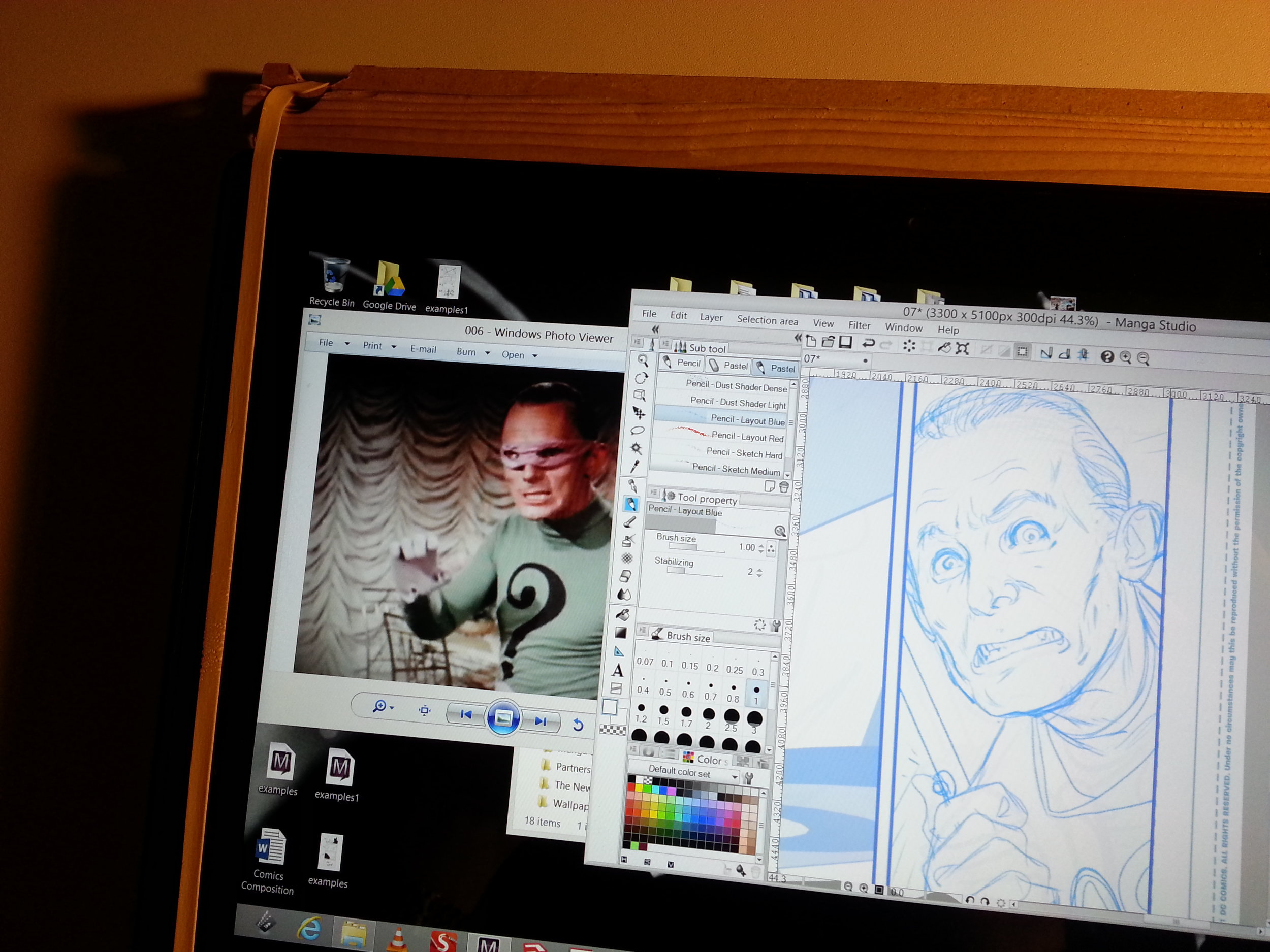 Get your Gorshin on with Manga Studio 5.