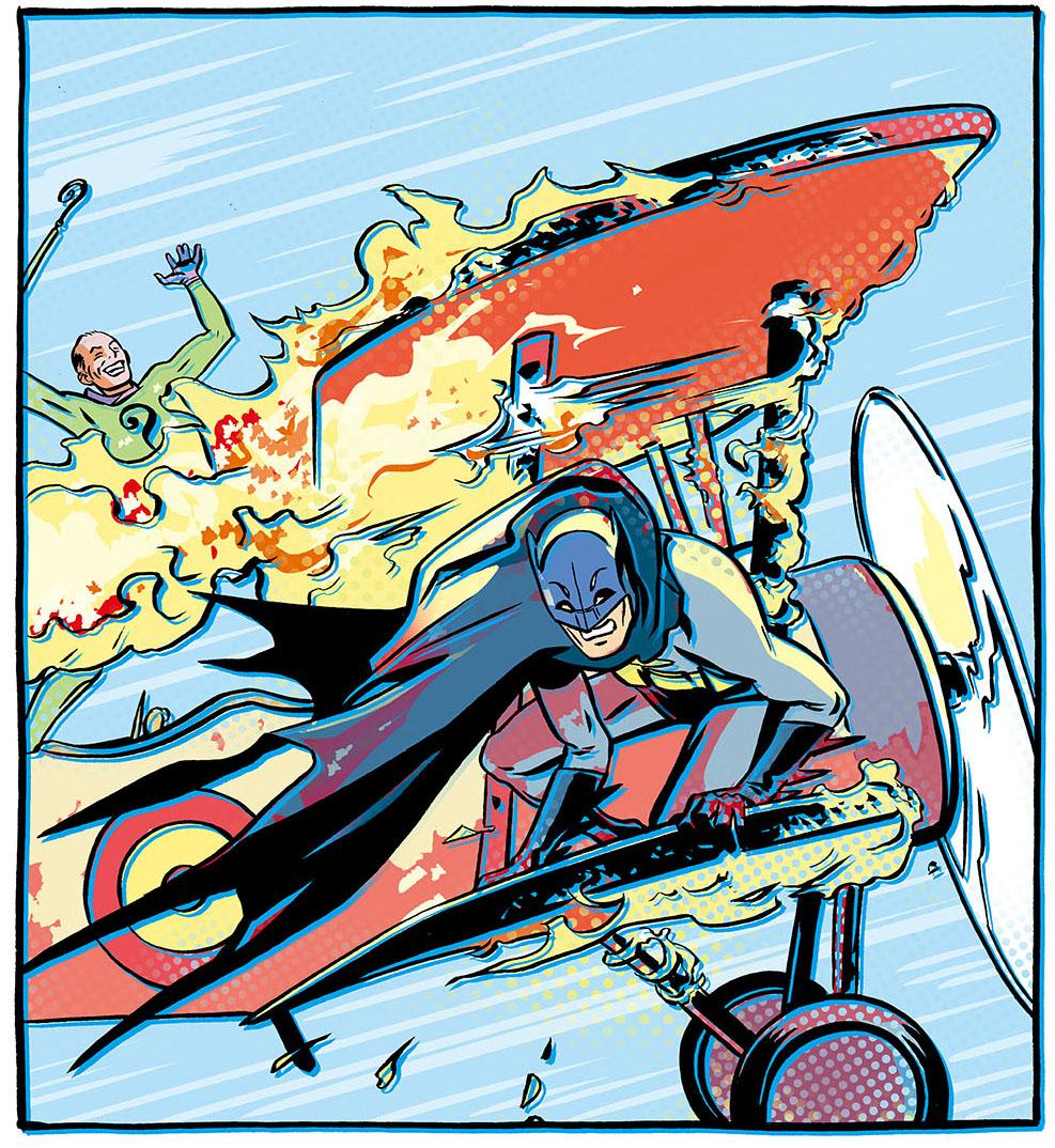 Batman '66 Plane