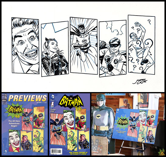 Batman 66 Launch Art Previews Variant