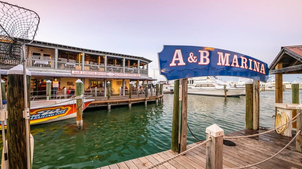 dock and dine - The best of Key West, including fantastic dining options, are just steps away.