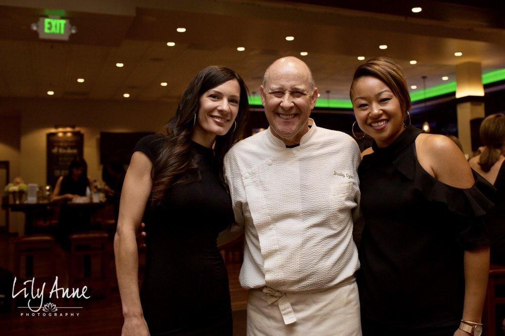 Melissa Smith, Chef Bradley Ogden, Shani Hall