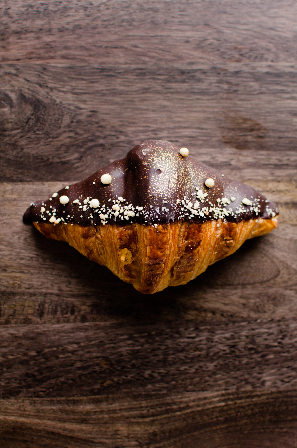 Hazelnut Nutella (Mini Croissant)    French Flour, Japanese Flour, Egg, Isigny Butter, Dark Chocolate, Hazelnut, Nutella