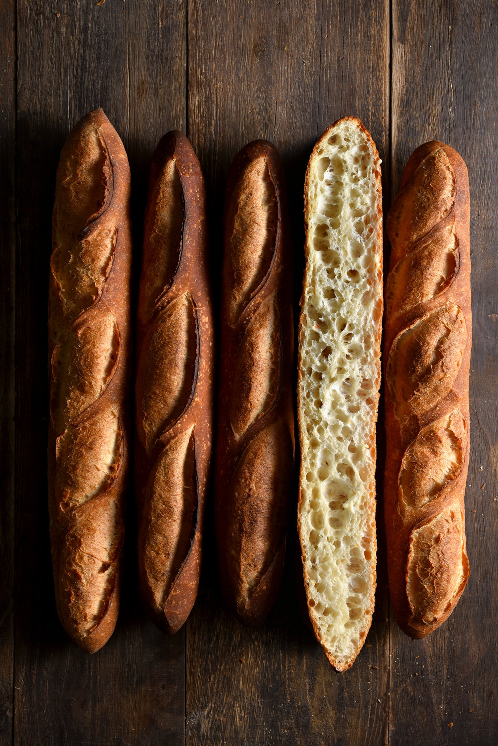 Baguette / Demi Baguette   French Flour, Water