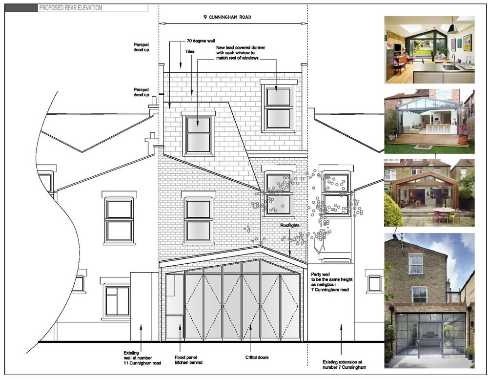 Side and Rear extension and loft conversion - Haringey Council