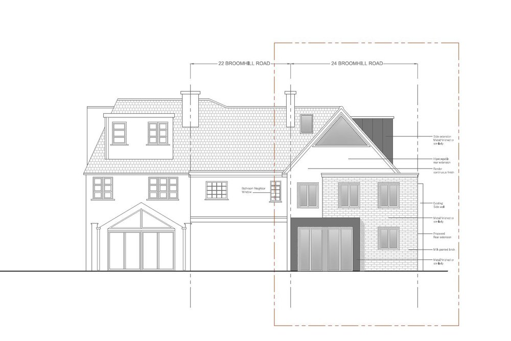 Rear, Side extension and Loft Conversion in Wandsworth council