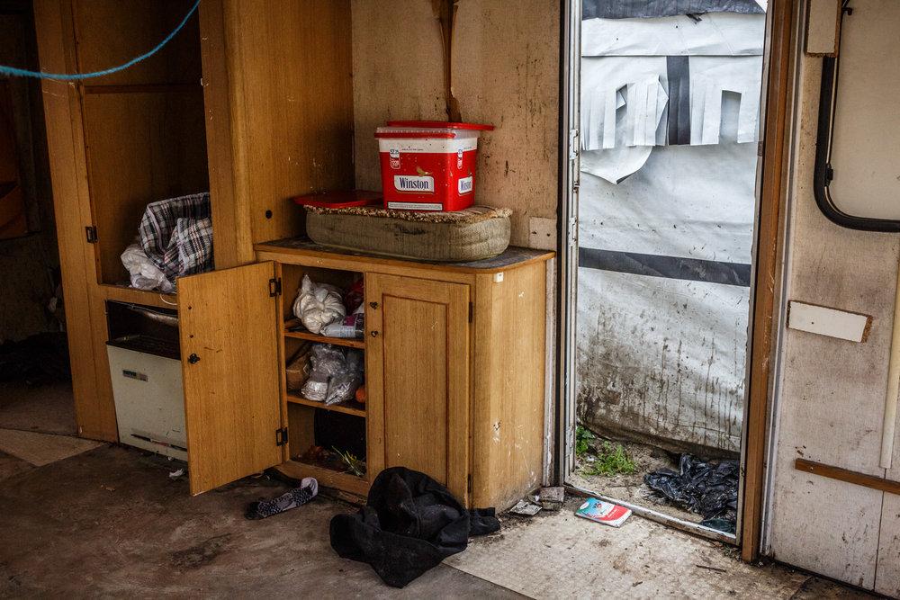 Demantelement de la jungle de Calais