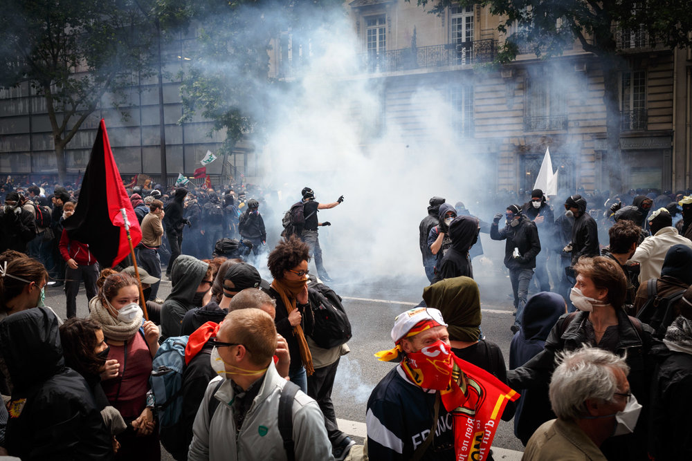Manifestation contre la Loi Travail - 14 juin 2016