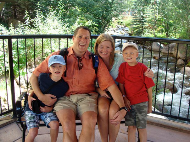The Harris Family - This is My Family: Steve, Kristen, Drew and Blake Harris. We live in Dallas, Texas and enjoy vacationing in Colorado in the summer and winter.