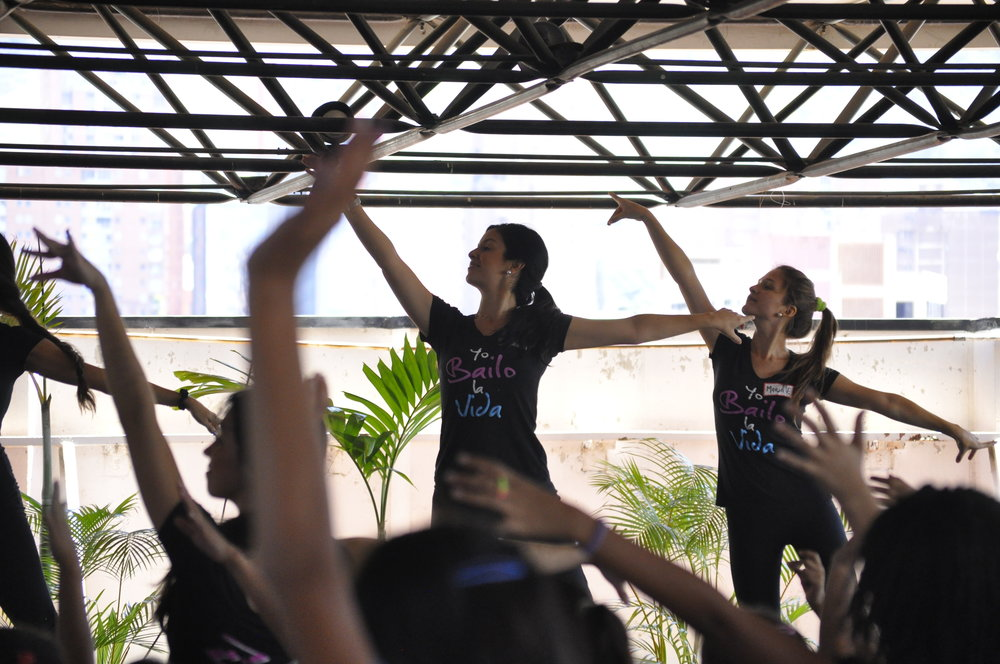 Through dance lessons, Dance Life offers youth from poor communities of Caracas a chance to learn critical civic values such as perseverance, confidence, and discipline in the hopes of reducing crime rates in the future. (Photo Credit: Dance Life)