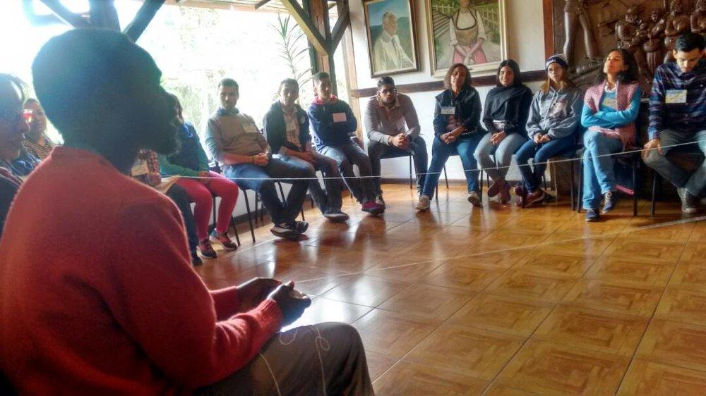The School of Forgiveness and Reconciliation (Las Espere) is a program consisting of 12 four-hour modules on forgiveness and reconciliation, guided by a facilitator (Créditos fotográficos: Erick Lezema)